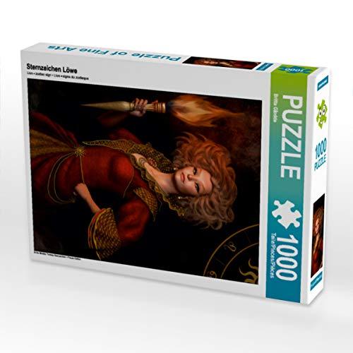 CALVENDO Puzzle Sternzeichen Löwe 1000 Teile Lege-Größe 48 x 64 cm Foto-Puzzle Bild von Britta Glodde