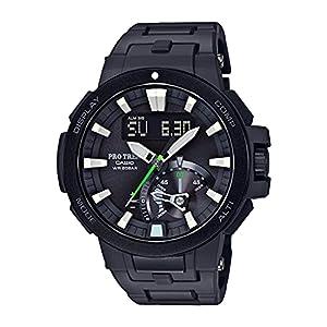"""[カシオ] 腕時計 プロトレック 電波ソーラー PRW-7000FC-1JF ブラック"""""""