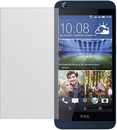 dipos I 2X Schutzfolie matt kompatibel mit HTC Desire 626G Folie Bildschirmschutzfolie