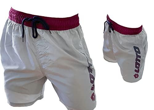 costume mare uomo napapijri Lotto Costume Uomo Boxer Mare Pantaloncini da Bagno (48341 Silver