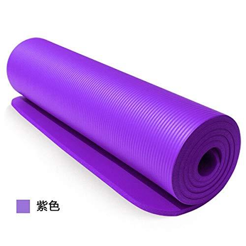 NBR Yoga Mat Teppiche Handtuch Fitnessraum Matratze Übung Balance Akupressur Massage Fitness Tapete Spielmatte Tasche 183x61x1CM