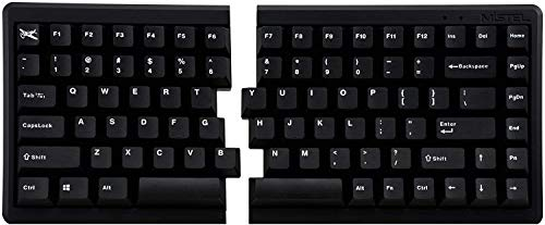 Mistel BAROCCO MD770 RGB メカニカルキーボード 英語配列 85キー 左右分離型 CHERRY MX RGB スピードシルバー軸 MD770-SUSPDBBT1