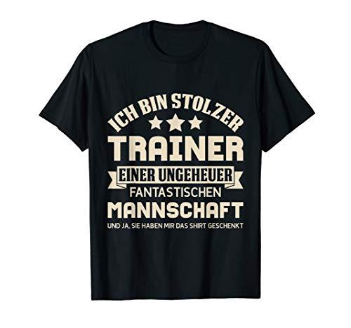 Herren T-Shirt Trainer lustiger Spruch Fußballtrainer Handball usw!