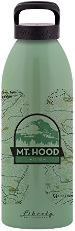 Liberty Bottle Works Mt. Hood Standard Water Bottle, Edamame, 32 oz Large by Liberty Bottleworks