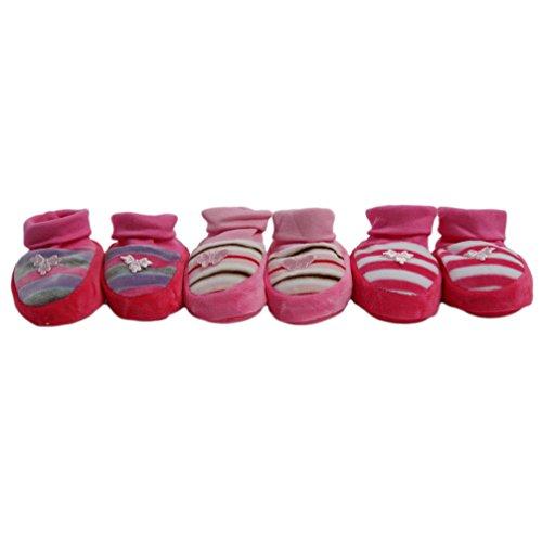 Babyschuhe Erstlingsschuhe Nicki pink 0 - 4 Monate