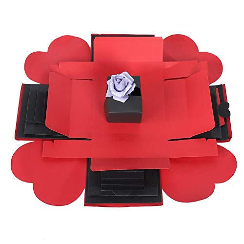Wifehelper Explosion Box foto verrassing explosie doos bom geschenk-Scrapbook handgemaakte doe-het-zelf album verjaardag Valentijnsdag bruiloft verjaardag verloving cadeau