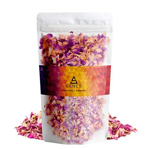 SENES - Pétalos de rosa de Damasco, 2 paquetes de 25 g (50 g)