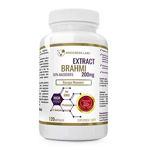 PROGRESS LABS BacopaMonnieri 200 mg Ext. 50% Bacosides, 120 capsule