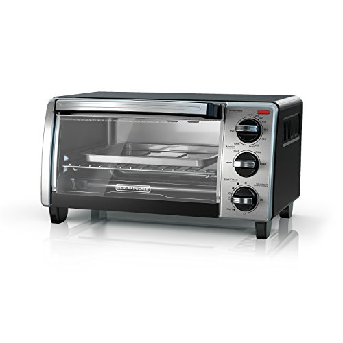 BLACK+DECKER 4-Slice Toaster Ove...