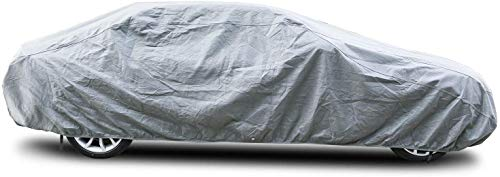 """Arch Motoring Car Cover, Dustproof Windproof Breathable 3 Layer Car Covers for Automobiles, Fit Full Car Up to 228"""""""