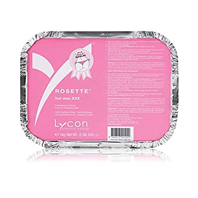 Buy Lycon Wax ~ Rosette HOT Wax XXX 1kg / 35oz Strip-Less