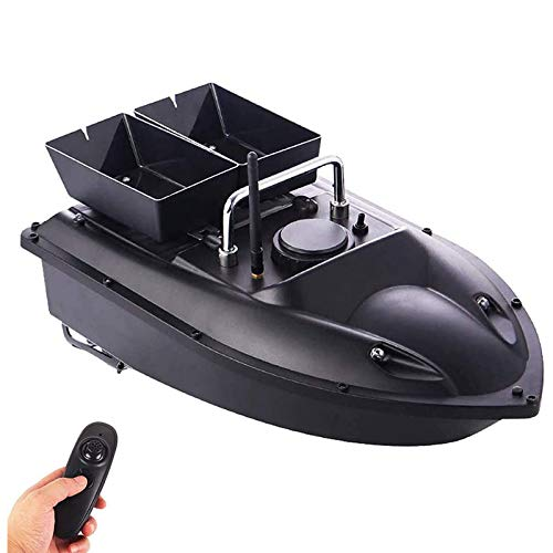 DYJD 500 Metros Pesca Kits de reparación del Barco del Cebo Elegante Inteligente RC Cebo Barco de Juguete Doble Almacén Cebo de Pesca del Paquete de Regalos de los Hombres de