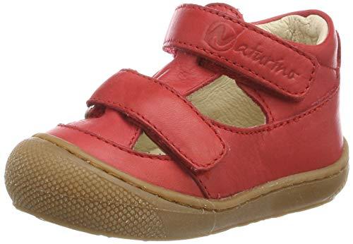 Naturino Unisex Baby Puffy Sandalen, Rot (Rosso 0h05), 22 EU