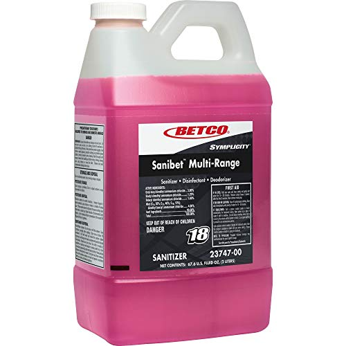 Betco SYMPLICITY SANIBET MultiRange Sanitizer