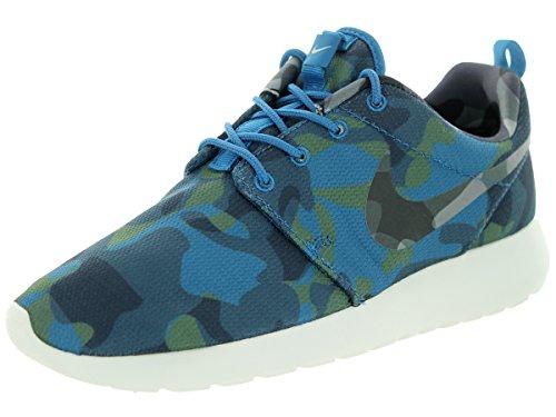 Nike WMNS Roshe One Print–Slippers Women Blue Size: 3.5