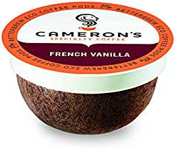 Cameron's Coffee Single Serve Pods, Flavored, French Vanilla, 12 Count (Pack of 6)