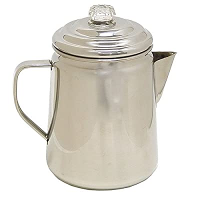 Coleman Stainless Steel Percolator, 12 Cup