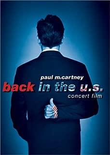 Paul McCartney: Back in the U.S. - Live 2002 Concert Film