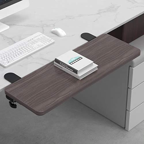 Ergonomics Desk Extender Tray Clamp On Keyboard Drawer Table Mount Armrest Shelf Stand Slide Computer Elbow Arm Support