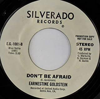 don't be afraid / let my spirit fly 45 rpm single