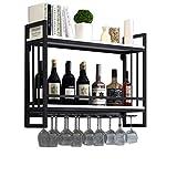 Soporte for copas de vino colgante | Estantes for vinos Montado pared...
