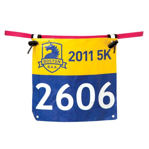 Nathan Fast and Light Race Number Belt, One Size, Cabaret