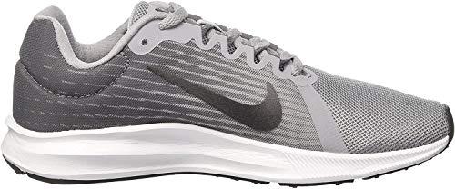 Nike Nike Damen Downshifter 8 Running Laufschuhe, Grau (Wolf Grey/MTLC Dark Grey/Cool Grey/Black 006), 38.5 EU