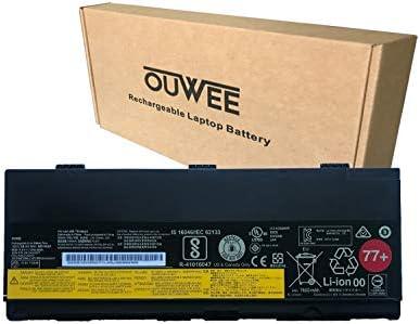 OUWEE 01AV477 Laptop Battery Compatible with Lenovo Thinkpad P50 P51 P52 Series SB10H45077 SB10H45078 00NY493 00NY492 L17L6P51 SB10K97634 SB10K97635 L17M6P51 01AV495 01AV496 77+ 11.4V 90Wh 7900mAh