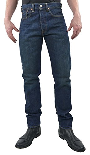 Levi's Jeans 501 Customized & Tapered Denim Scuro W32L34