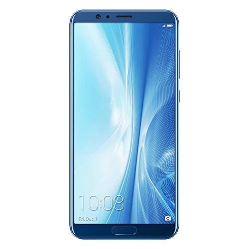 """Honor View 10 - Smartphone de 5.99"""" (4 G, 6 GB de RAM, 128 GB de ROM, EMUI 8, compatible con Android, Full HD 2160 x 1080p, cámara 16MP +20 MP y frontal de 13 MP), Azul (Navy Blue)"""