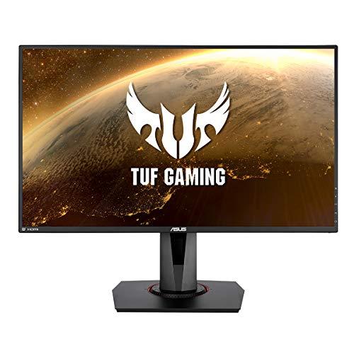 Asus TUF Gaming VG279QM - Monitor de Gaming HDR de 27' (Full HD (1920 x 1080), Fast IPS, 280Hz (OC. 240 Hz, 144Hz), 1ms (GTG), ELMB Sync, G-Sync Compatible, DisplayHDR 400)