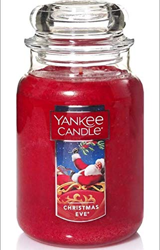 Christmas Eve Large Jar Candle ,Fresh Scent