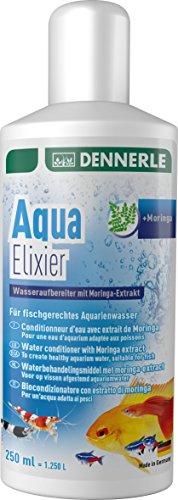 Dennerle Aqua Elixier - Wasseraufbereiter mit Moringa-Extrakt, für fischgerechtes Aquarienwasser (250 ml)