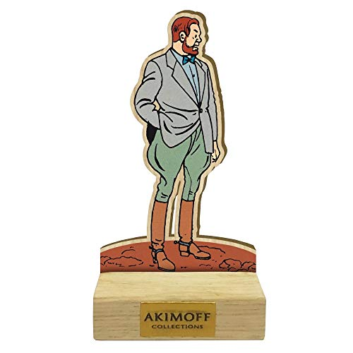 Figurine de collection en bois Akimoff Blake et Mortimer, Philip Mortimer (2020)