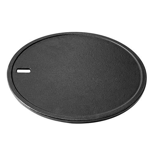 Landmann Modulus Grillplatte | Emailliertes Gusseisen | Passend für Grillrostsystem Modulus | Zweiseitig einsetzbar | Besonders geeignet für kleines Grillgut, Spiegeleier etc.