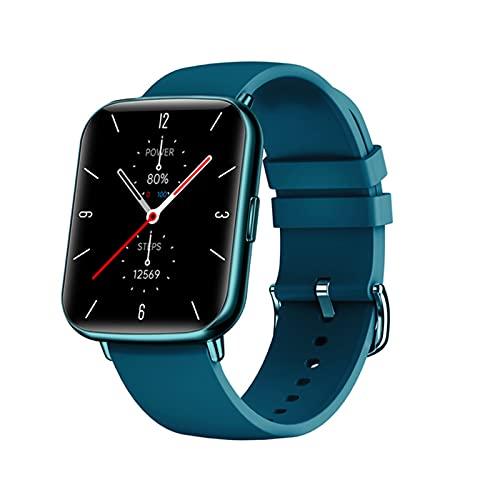 Bluetooth Smart Watch De 1.7 Pulgadas Pantalla Táctil Completa para Hombres Y Femenino del Metro De La Ritmo Cardíaco del Fitness Bracelet Sports Waterproof Smart Watch,B