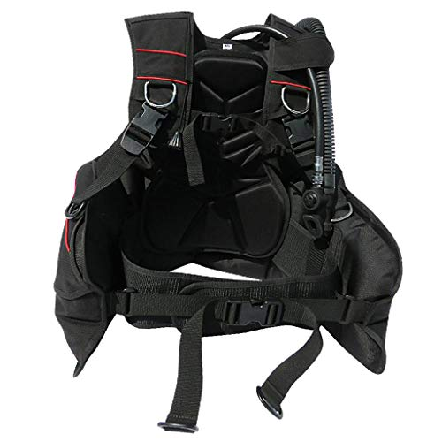 menolana Pro Jacket Style Scuba Diving BCD for Beginners with Quick-Release Buckle Weight Pocket - L