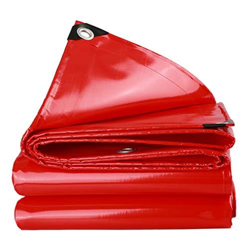 TRNCEE tafelzeil van sterk, dik tafelzeil met dubbele pvc-coating aan twee zijden: 550 g/m2, water- en uv-bestendig. 5x5m