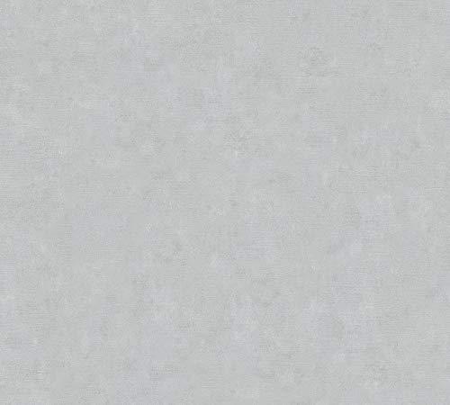 A.S. Création Vliestapete Beton Concrete & More Tapete in Vintage Beton Optik 10,05 m x 0,53 m grau Made in Germany 363134 36313-4