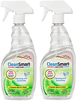 2-Pack CleanSmart Nursery & High Chair Cleaner, 23oz