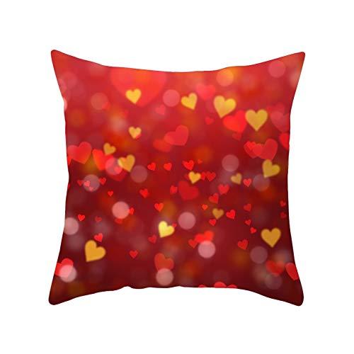 Fundas de almohada para el día de San Valentín, fundas de almohada a cuadros de búfalo, para tu pareja, madre, decoración del día de San Valentín