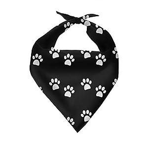 Belidome Hundebandagen mit Pfoten-Design, verstellbar, für kleine und mittelgroße Haustiere