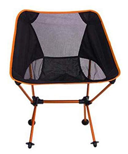 Quality Portable Outdoor Folding Chair Stool Backpacking Camping Chair Ultra Light Aluminum Alloy Garden Foldable Fishing Hiking Chair Heavy Duty 150kg Capacity Outdoor Chair for BBQ Beach Upgrade-ora