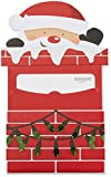 Amazon.ca Gift Card for any amount in a Santa Chimney Reveal ( Card Design)