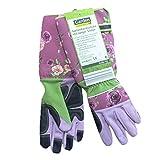 Strauchhandschuh Rosenhandschuhe für Männer/Frauen, Stachelschutz - Rosa