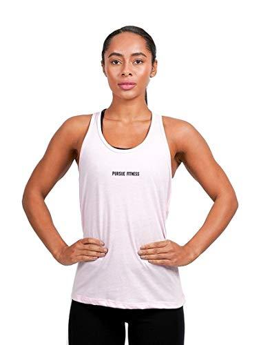 Pursue Fitness Tank Rücken Damen Hellrosa Größe L