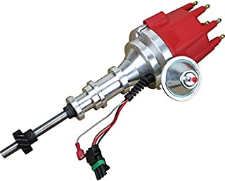 Dragon Fire High Performance Race Series Pro Billet Ready-to-Run Electronic Ignition Distributor Compatible Replacement For 1995-1964 Ford Y Block 239 272 292 312 Oem Fit DFY-DF