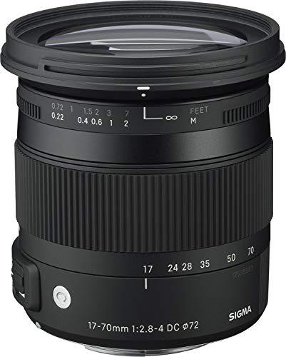 Sigma 884955 - Objetivo para Nikon (distancia focal 17-70mm, apertura f/2.8-4,...