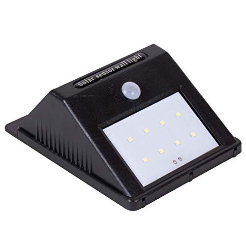 Eurocatch Outdoor Wandlamp - Buitenlamp Zonne-energie met sensor - Zonne-lamp