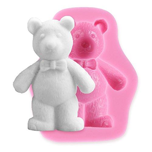 Bear - Bear Silicone Fondant Cake Icing Sugarcraft